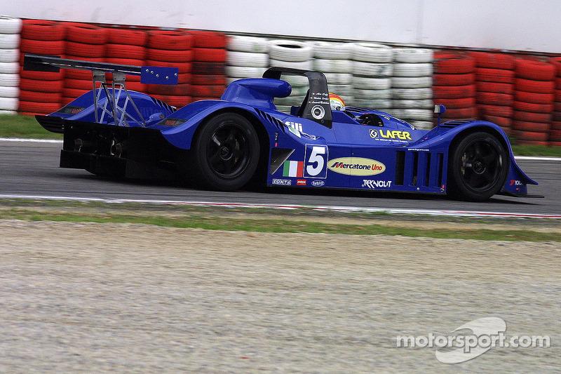 #5 GP Racing Promec-Judd: Alex Caffi, Michele Serafini, Leonardo Maddalena