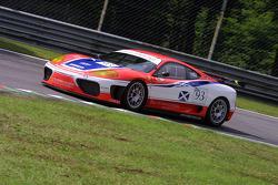 #93 Scuderia Ecosse Ferrari 360 Modena: Andrew Kirkaldy, Nathan Kinch