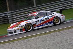 #79 JP Racing Porsche 996 GT3 RS: Jens Petersen, Jan-Dirk Lueders, Oliver Mathai