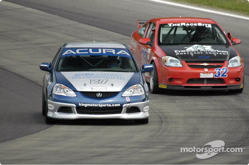 Bill Fenton Motorsports Acura RSX – S : Éric Curran, Bob Endicott