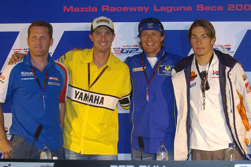 Conferencia de prensa: Kenny Roberts, Colin Edwards, Sete Gibernau y Nicky Hayden