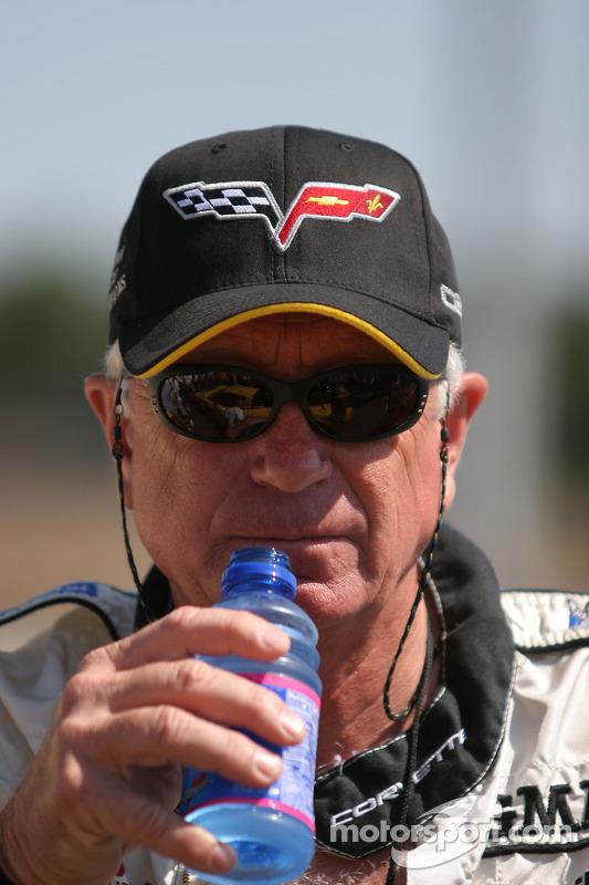 Un membre du Corvette Racing