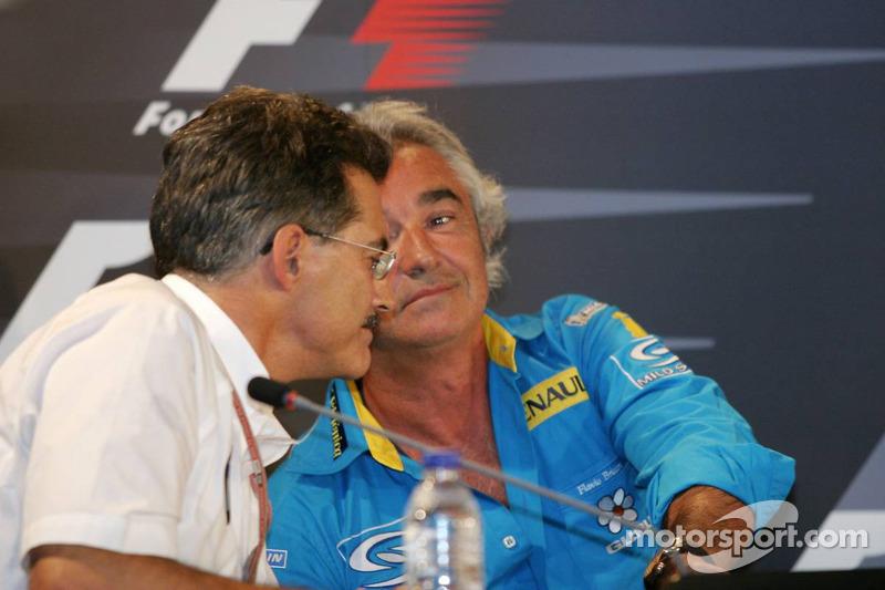 Conferencia de prensa: Dr Mario Theissen y Flavio Briatore