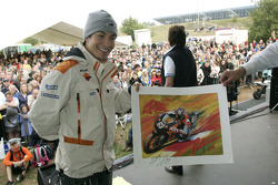 Nicky Hayden at a public appearance