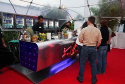 Red Bull Petit Prix in Manheim: the bar