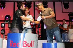 Red Bull Petit Prix in Manheim: podium celebrations