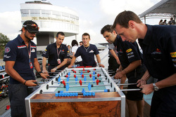Red Bull Racing Chilled Thirstday part: Vitantonio Liuzzi and Christian Klien