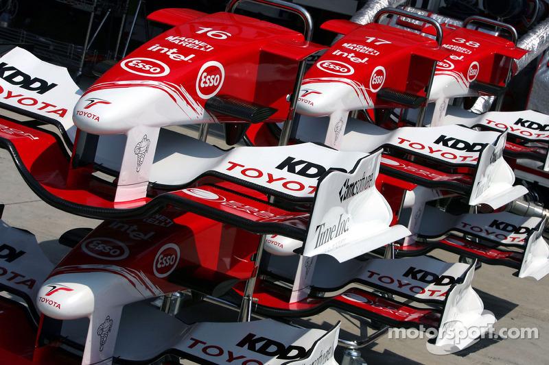 Llantas delanteras de Toyota