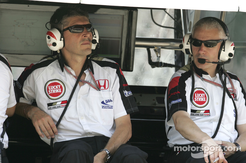 Nick Fry y Geoff Willis