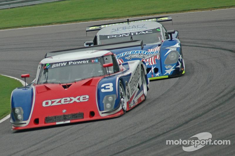 Southard Motorsports BMW Riley : Shane Lewis, Darius Grala; Spirit of Daytona Racing Pontiac Crawford : Doug Goad, Stephan Gregoire