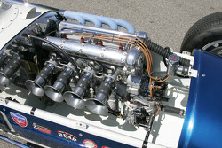 Engine of a vintage Indy Roadster