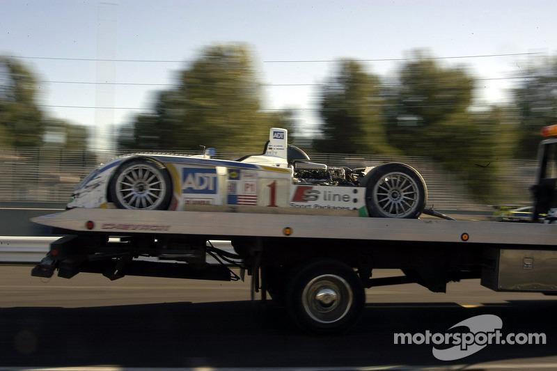 #1 Champion Racing Audi R8: JJ Lehto, Marco Werner