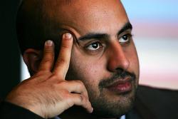 His Highness Sheikh Maktoum Hasher Maktoum Al Maktoum CEO A1 Grand Prix
