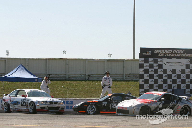 #13 Unitech Racing Nissan 350Z: David Murry, Blake Rosser, #85 Knobel Racing Porsche 996: Joe Fox, C