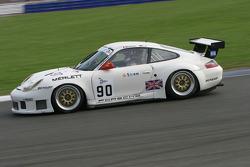 #90 Sebah Automotive Porsche 996 GT3 R: Xavier Pompidou, Marc Lieb