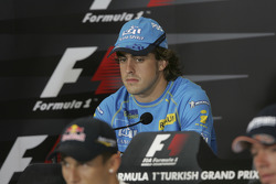 Conférence de presse pour Fernando Alonso