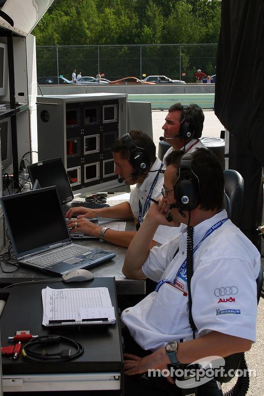 La zone des stands de Champion Racing