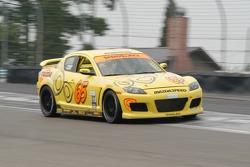 #65 SpeedSource Mazda RX-8: Billy Johnson, Harry Kintzi