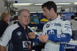 Patrick Head and Mark Webber