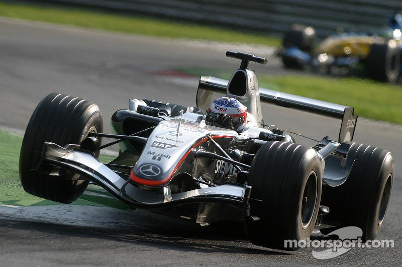 2005 : McLaren MP4-20, à moteur Mercedes