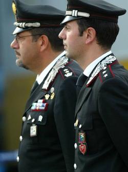 Carabinieri on duty