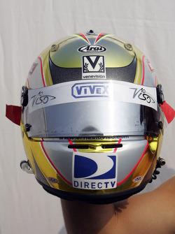 Helmet of Ernesto Viso