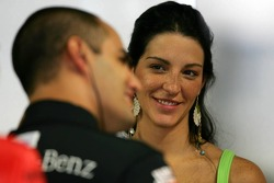 Connie Montoya watches husband Juan Pablo