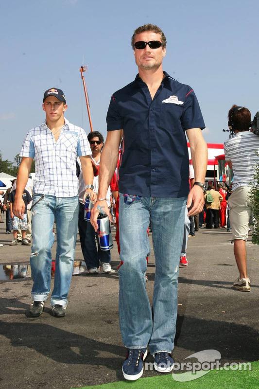 David Coulthard y Christian Klien