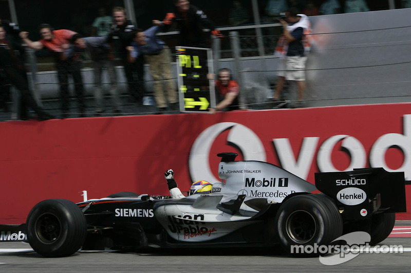 2. GP de Italia 2005: Juan Pablo Montoya (McLaren) en 1h14min28s659 (247.097 km/h)