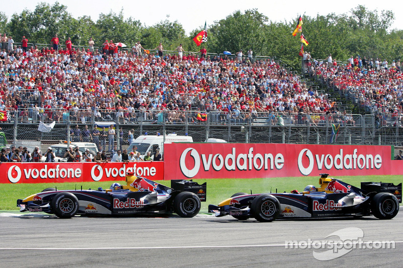 David Coulthard y Christian Klien