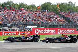 David Coulthard and Christian Klien