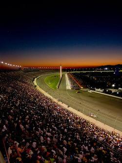 Sunset over California Speedway