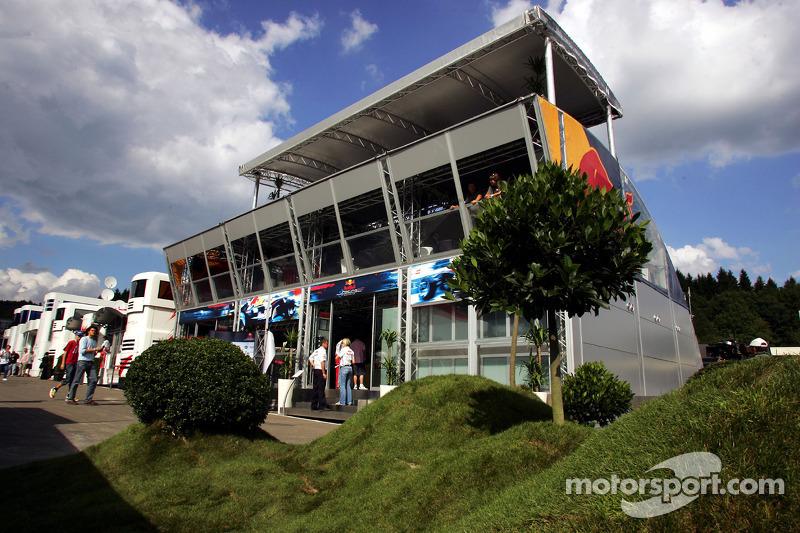 La Red Bull Racing Energy Station