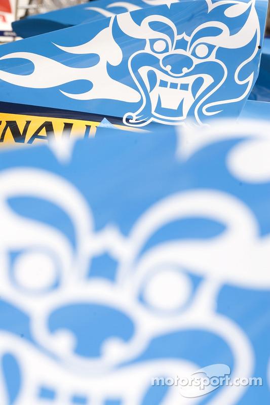 Diseño de Dragon en el F1 Renault