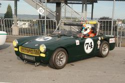 1971 MG Midget of Dick Rzepkowski
