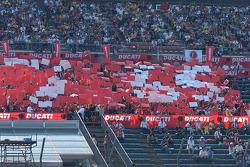 Ducati fans celebrate