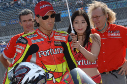 Ruben Xaus on the starting grid