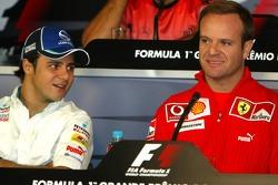 FIA press conference: Felipe Massa and Rubens Barrichello