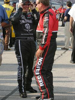 Dave Blaney and Ken Schrader