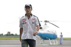 At home in Tokyo with Takuma Sato: Takuma Sato back from his helicopter ride
