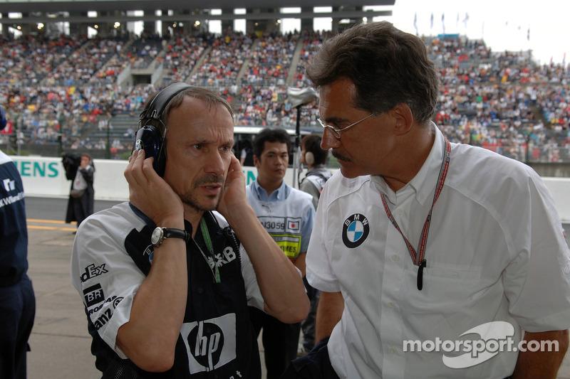 Dr. Heinz Paschen and Dr. Mario Theissen