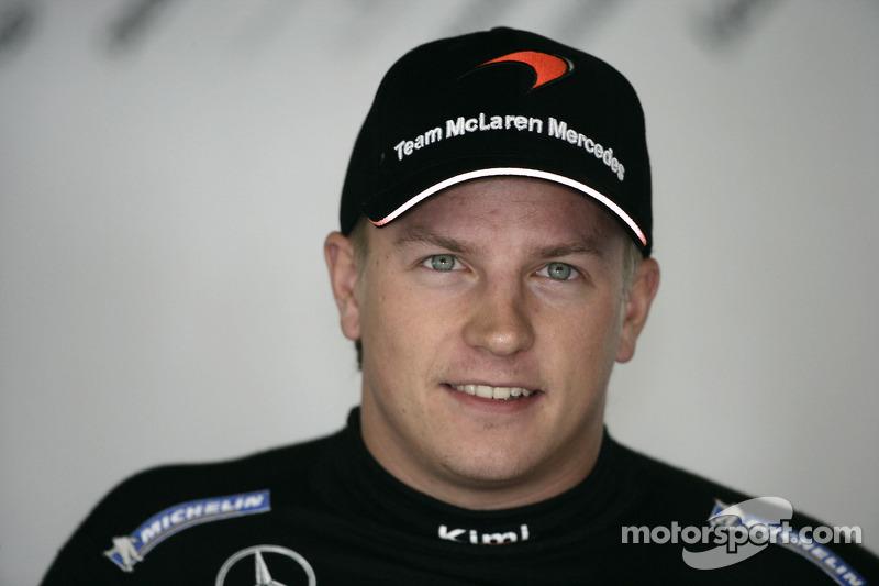 Em 2005, Alonso, Kimi Raikkonen (foto) e Jenson Button, hoje todos campeões mundiais, eram apenas estrelas em ascensão.