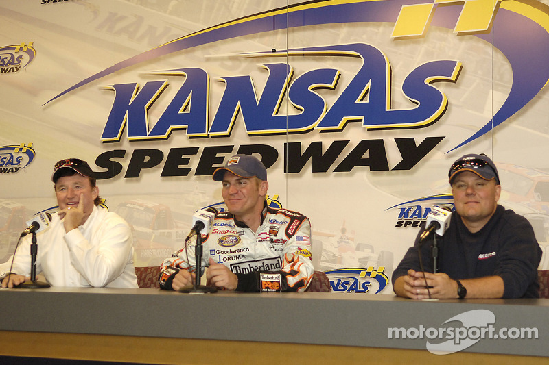 Press conference: Richard Childress, Clint Bowyer and crew chief Gil Martin