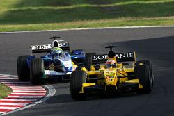 Narain Karthikeyan and Felipe Massa