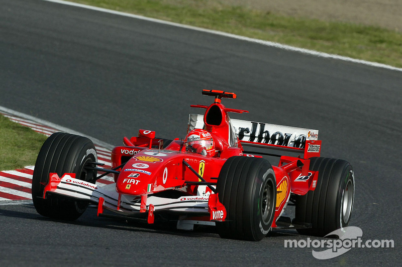 2005: Michael Schumacher, Ferrari F2005