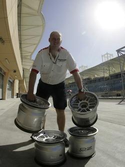A tire technician
