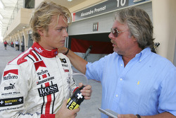 Nico Rosberg with dad Keke