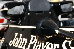 1976 Lotus 77/3 cockpit body work