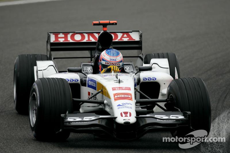 2005 - BAR 007 (Honda engine)