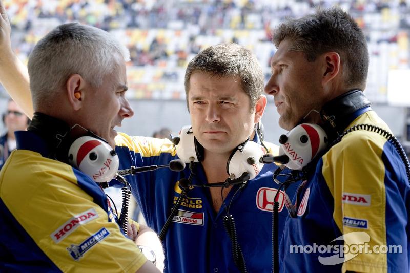 Geoff Willis, Gil de Ferran and Nick Fry
